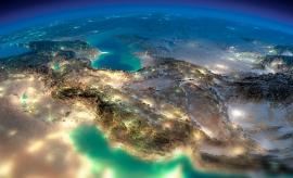 عکس ماهواره ای ایران