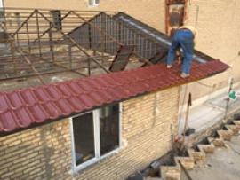 اجرای آردواز ، اجرای سقف شیب دار ، سقف ویلا و سوله
