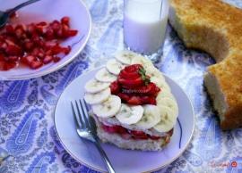 کیک اسفنجی برای پایه