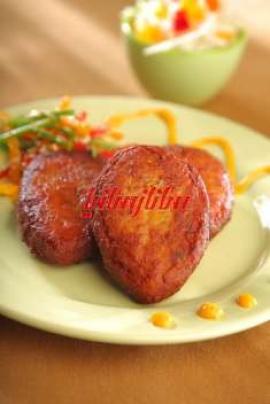 کتلت گوشت و سیبزمینی