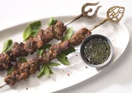 کباب بره تیکه ماستی ( لبنانی )