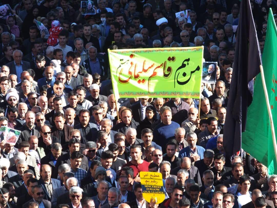 شهید سلیمانی با عدالت در برابر فساد و ظلم ایستادگی کرد