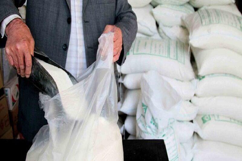 ۱۳ تن شکر تنظیم بازار در شهرستان دیر توزیع شد