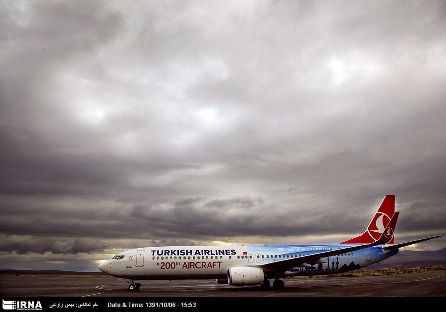 از سر گیری پروازهای ترکیش ایرلاین از تبریز
